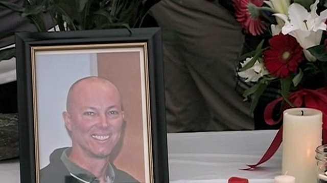 Candlelight vigil held for slain Brentwood officer