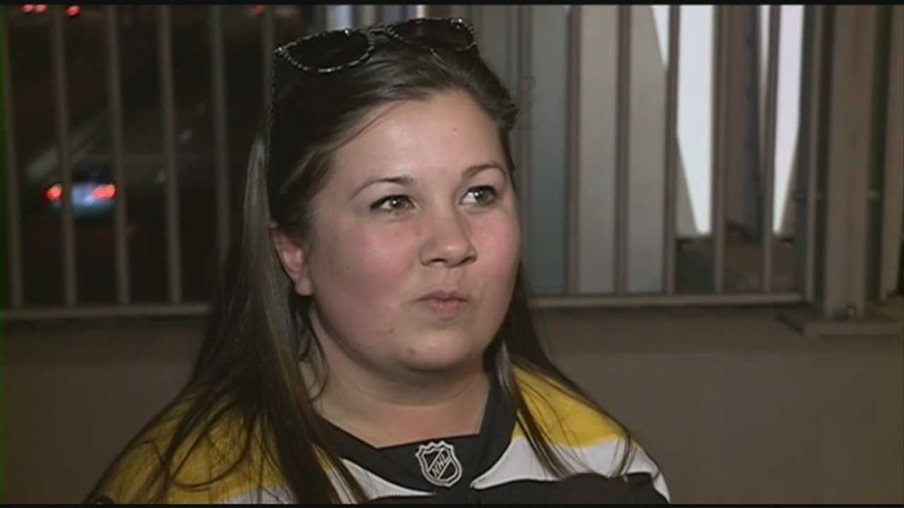 Bruins fans disappointed