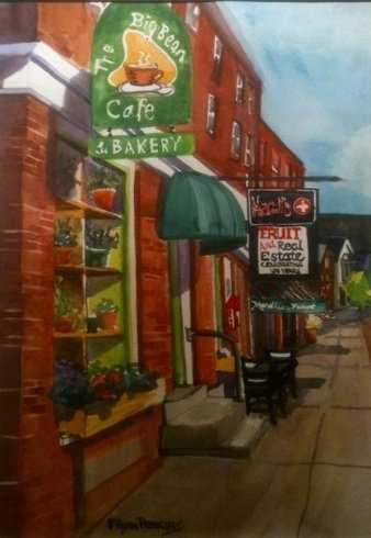 6 tie. The Big Bean Café in Newmarket