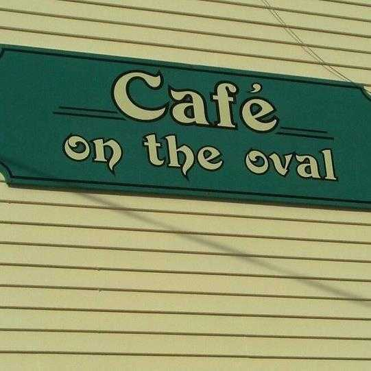 2 tie. Café on the Oval in Milford