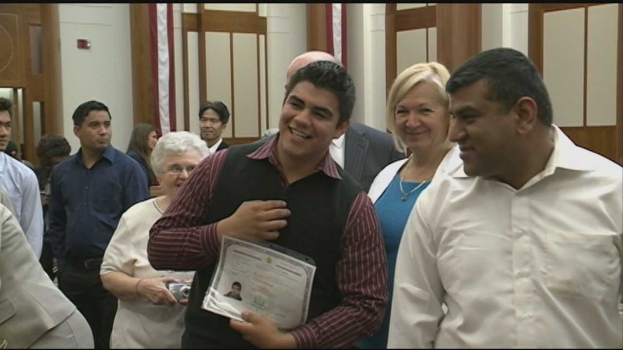 Many helped man's path to citizenship
