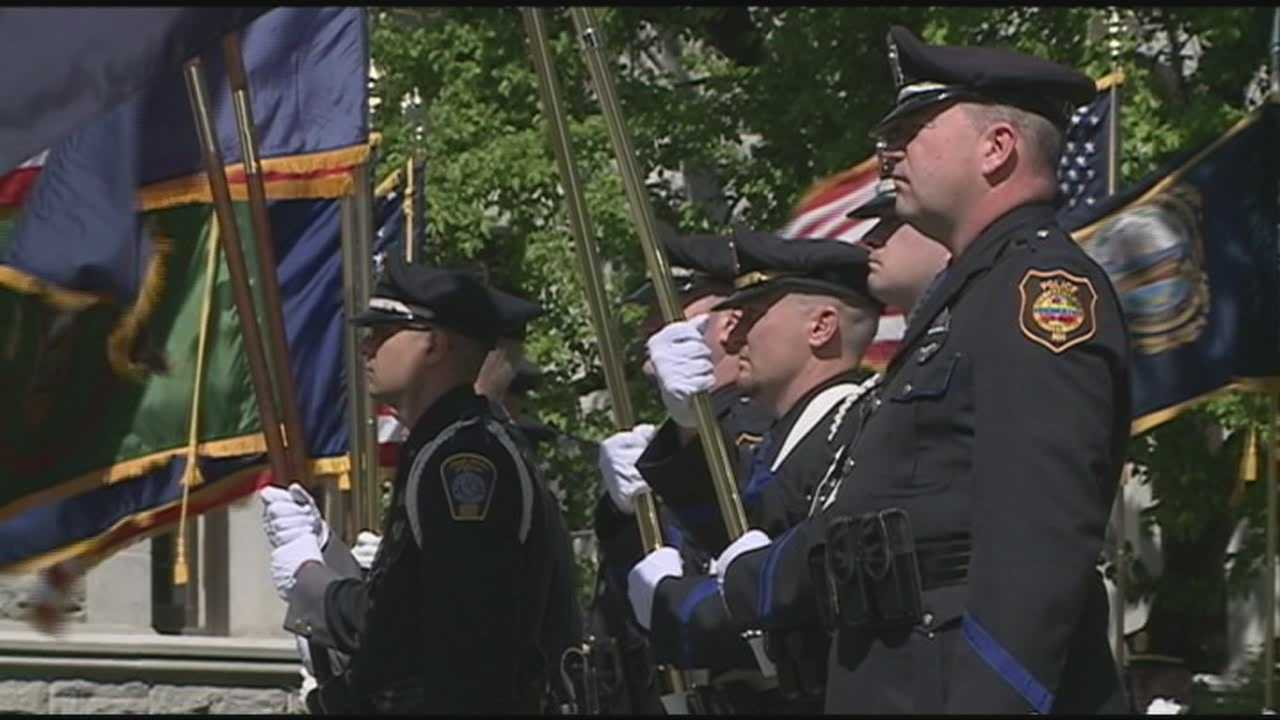 Fallen officers remembered at ceremony