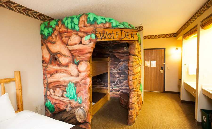 Special places for the kids to bunk!