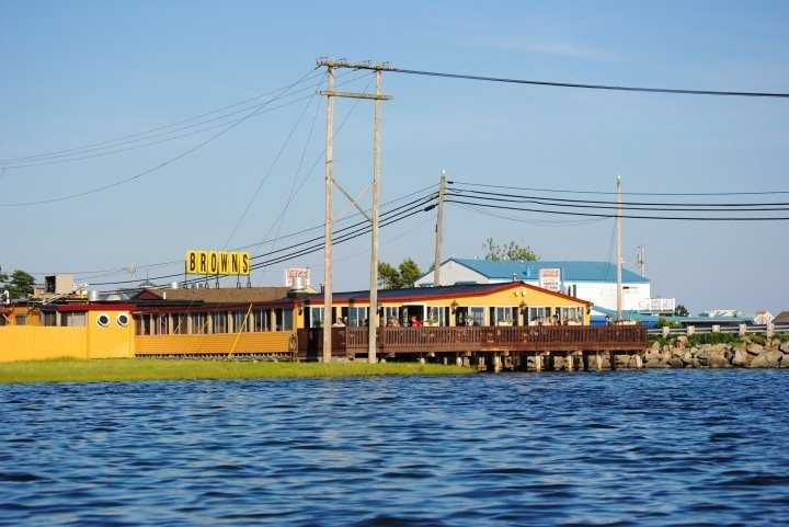 20 tie. Brown's Lobster Pound in Seabrook, Hampton