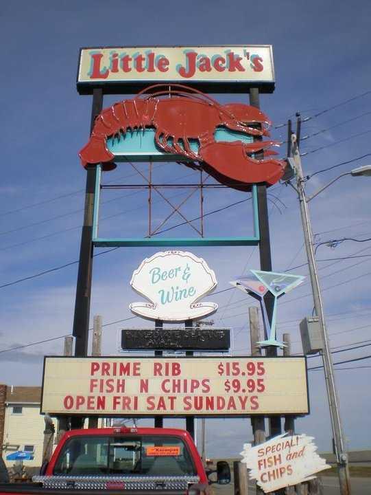 13 tie. Little Jack's Seafood Restaurant in Hampton