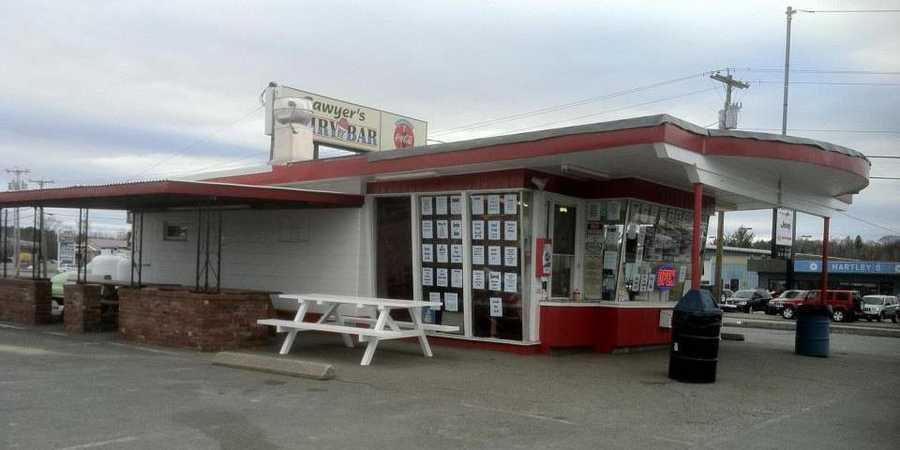 7 tie. Sawyer's Dairy Bar & Restaurant in Gilford
