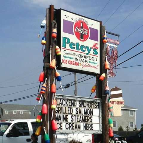 7 tie. Petey's Summertime Seafood Restaurant in Rye