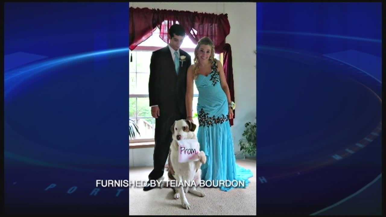 The Epping High School prom was shut down after two students were found drinking.