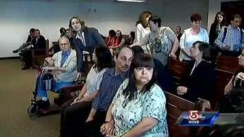 Family members were in the courtroom.