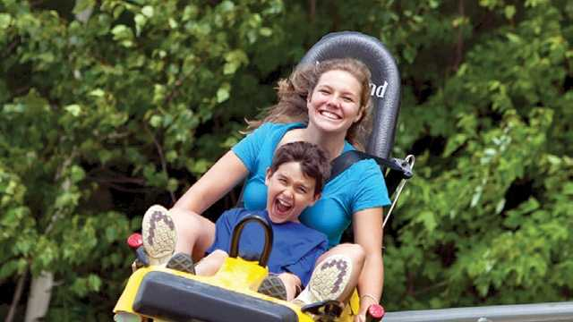 The Mountain Coaster at Cranmore Mountain Resort, one of two new major attractions to the White Mountains Attractions Association.