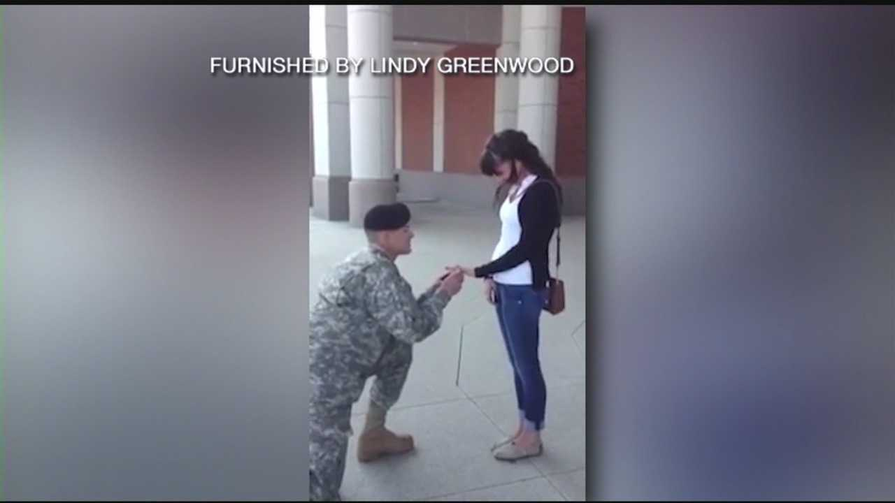 Soldier's Surprise Proposal