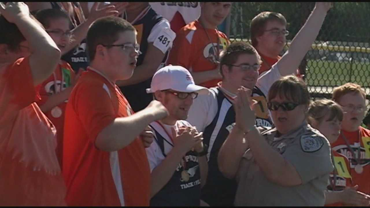 The New Hampshire Special Olympics wrapped up at UNH in Durham.