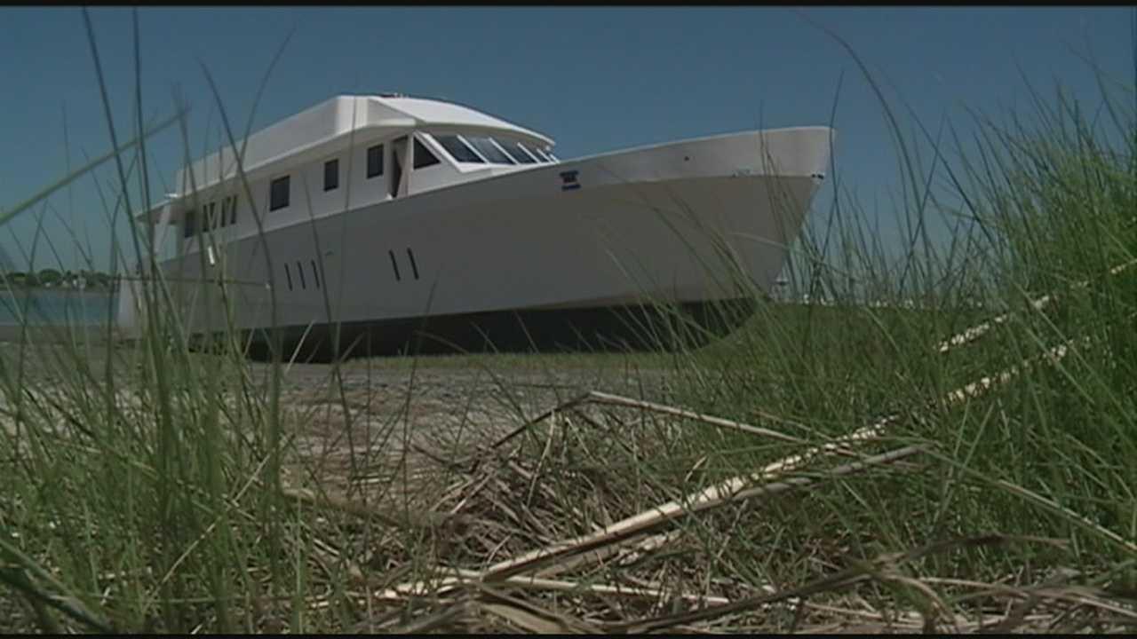 Abandoned ship may be moved