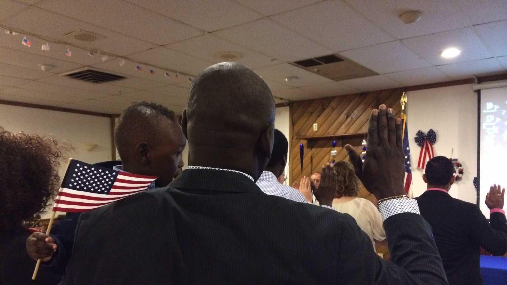 New citizens sworn in