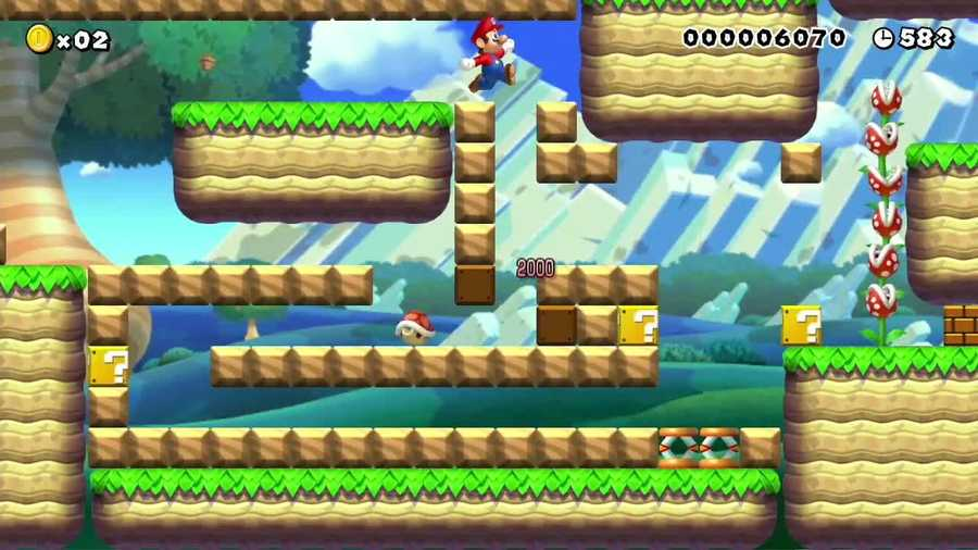 With Mario Maker,you'll be able to make your game in the original 8-bit style or in a new, more modern one.