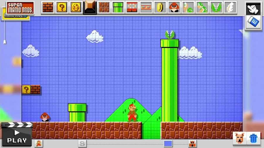 Nintendo announced a new game called Mario Maker at the Electronic Entertainment Expo (E3) this week in Los Angeles.