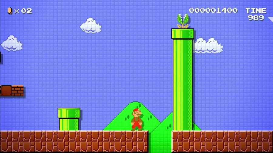 Levels in the next Mario game will be created by you!