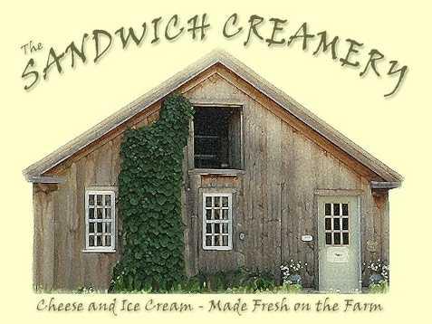 19 tie. Sandwich Creamery in North Sandwich