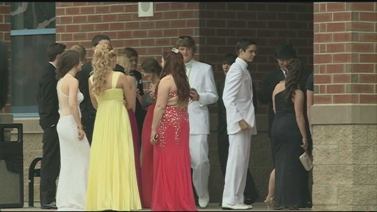 Students at Epping High School got a second chance Thursday to enjoy prom.