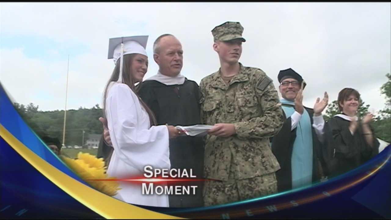 Big surprise for a high school graduate