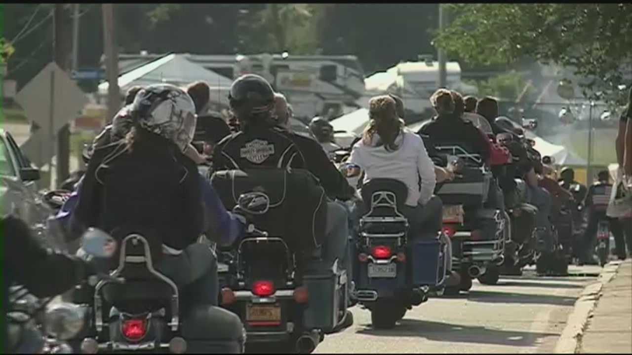 Motorcycle week begins in Laconia
