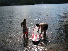 New Hampshire now has at least 20 places to buy, rent or take a lesson on a paddleboard.
