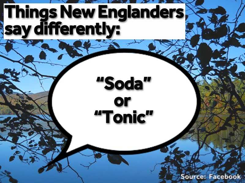 """""""Soda"""" or """"tonic"""" is often used in place of """"pop."""""""