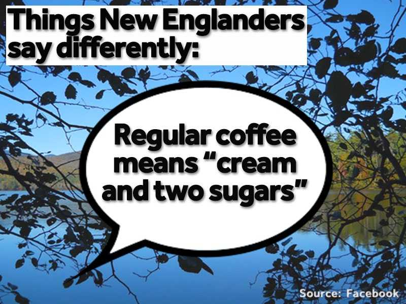 """""""Regular coffee"""" anywhere outside of New England means """"black."""""""