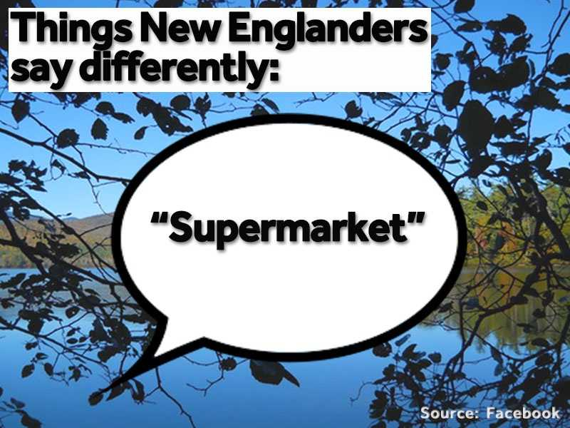 """""""Supermarket"""" is often used in place of """"grocery store."""""""