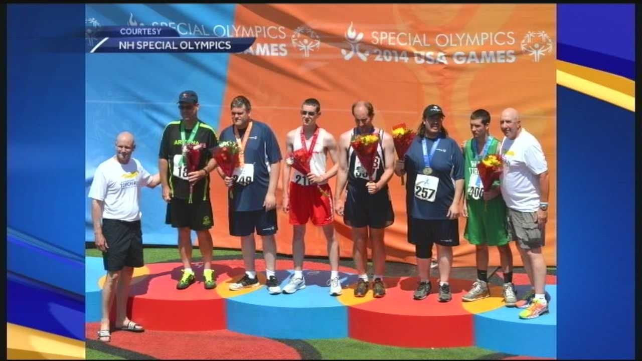 NH Special Olympians bring home medals