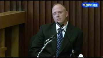 On May 28, Detective Shaun Mask of the Dover Police Department was the first witness called to the stand. He identified crime scene locations and discussed Seth and Kat's cellphone records. He also said Seth was very emotional, and crying, when he was arrested.