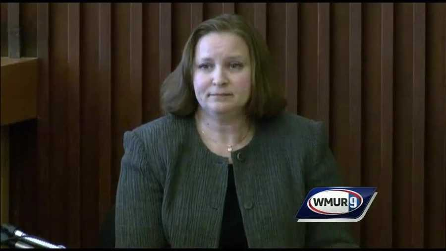 Melissa Staples, who serves as the Assistant Director of the State of New Hampshire Forensic Laboratory, said she analyzed DNA evidence from a pair of men's underwear and a used condom.