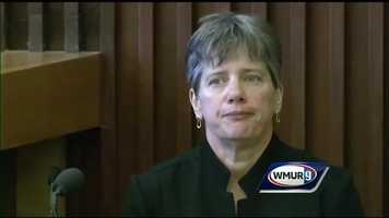 Jennie Duval of the New Hampshire Medical Examiner's Office testified about the process of strangulation and the appearance of ligature wounds.