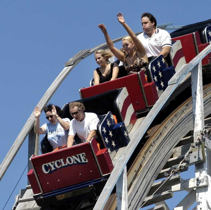 Six Flags New England will be retiring the infamous wooden roller coaster Cyclone this summer.