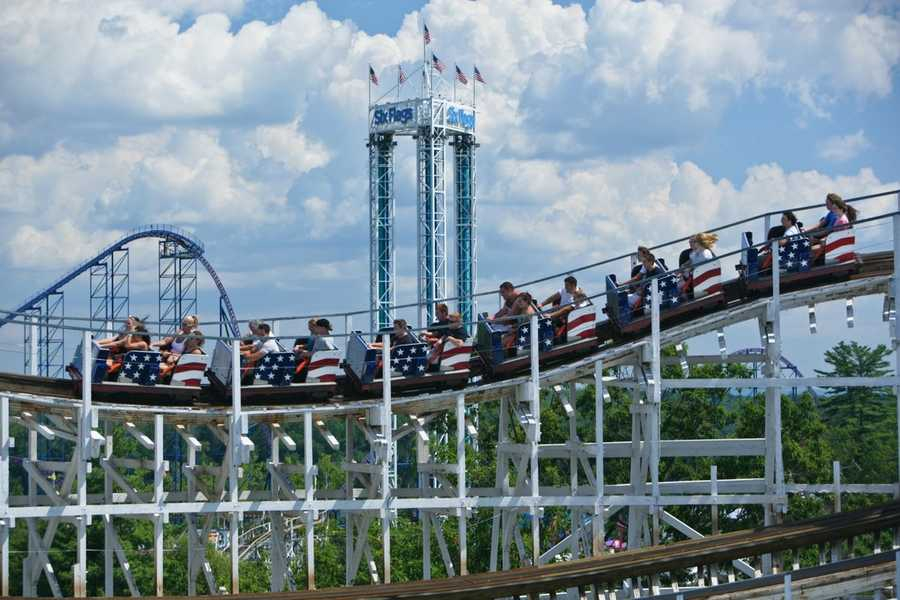 TheCyclone opened at Six Flags New England on June 24, 1983