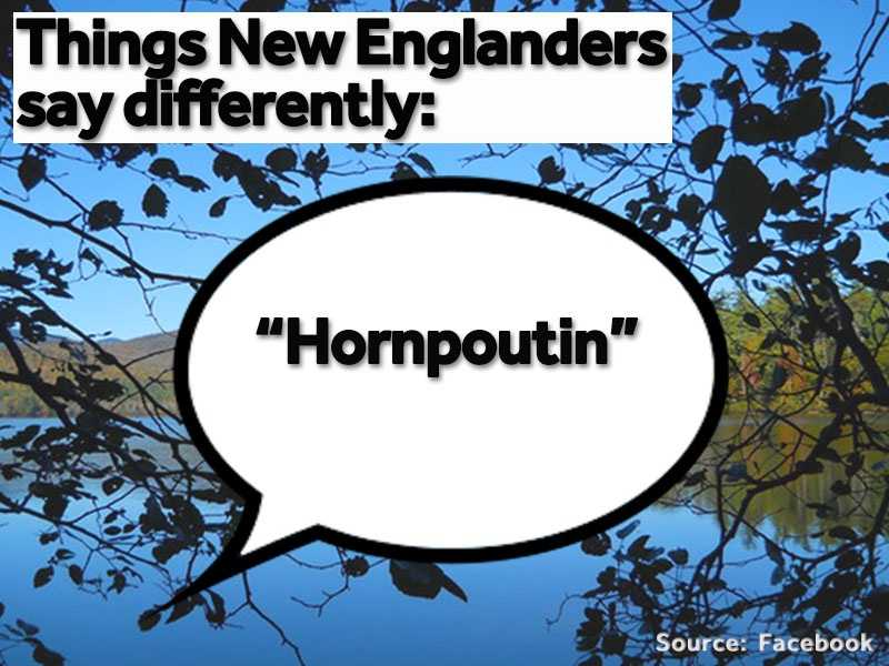 "We go ""hornpoutin,"" or fishing for catfish."