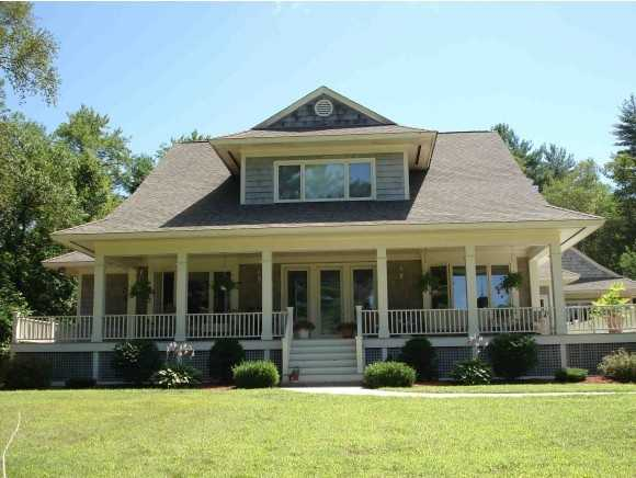 The 4,565square foot home sits on a 2.4 acre property.
