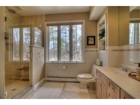 With a brand new master bathroom.