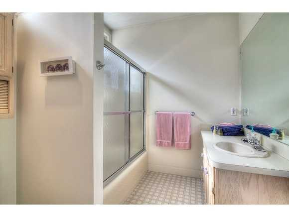 In all, there are four bedrooms, three full bathrooms and one half-bath.