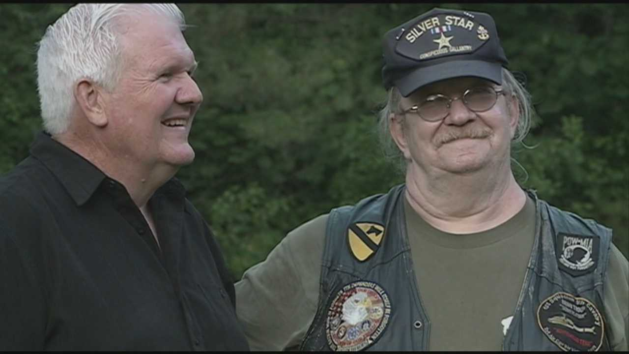 Facebook brought two Vietnam veterans together, decades after one saved the other's life on the battlefield. WMUR's Jean Mackin reports.