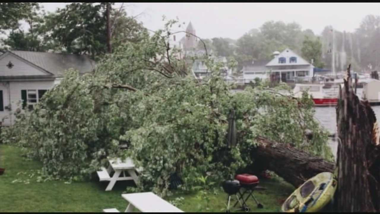 Storms cause damage across New Hampshire