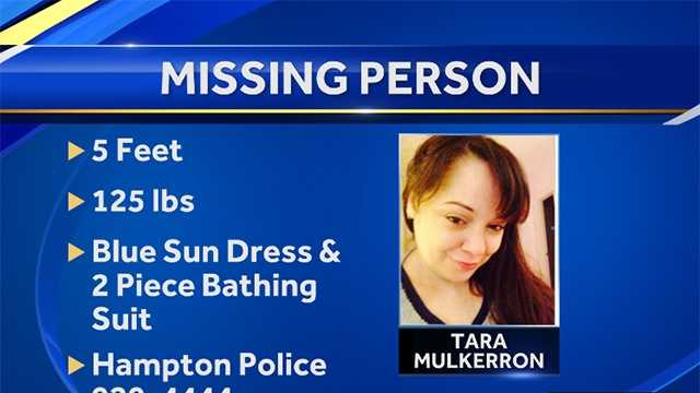 Woman reported missing in Hampton