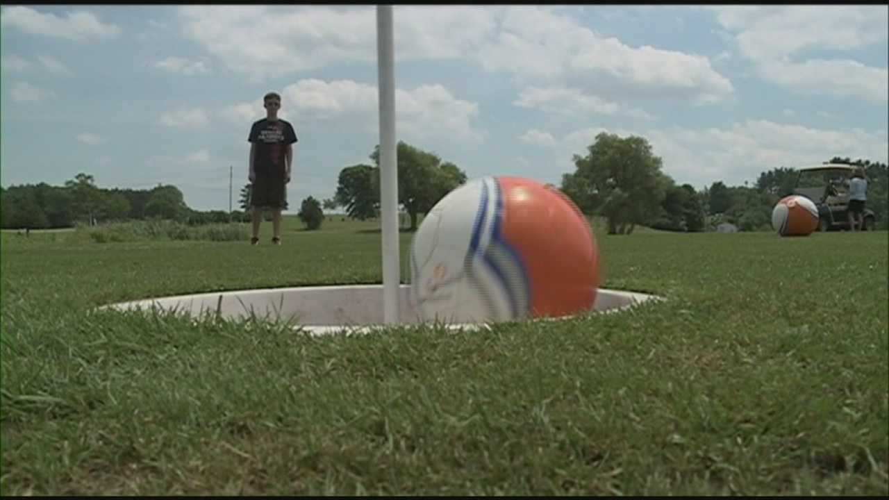'Foot golf ' gaining popularity on Seacoast