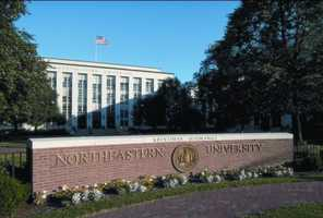 #33 Northeastern University (Massachusetts). Tuition and fees totaled $40,086 for the 2012-13 school year, according the the U.S. Department of Education.
