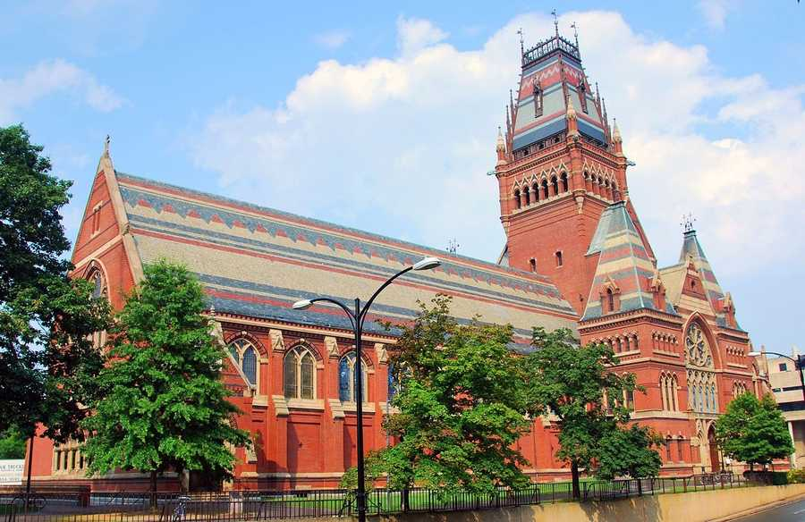 #34 Harvard University (Massachusetts). Tuition and fees totaled $39,966 for the 2012-13 school year, according the the U.S. Department of Education.