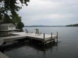 You can bring your boat and enjoy the deep water dock or fish off the dock.