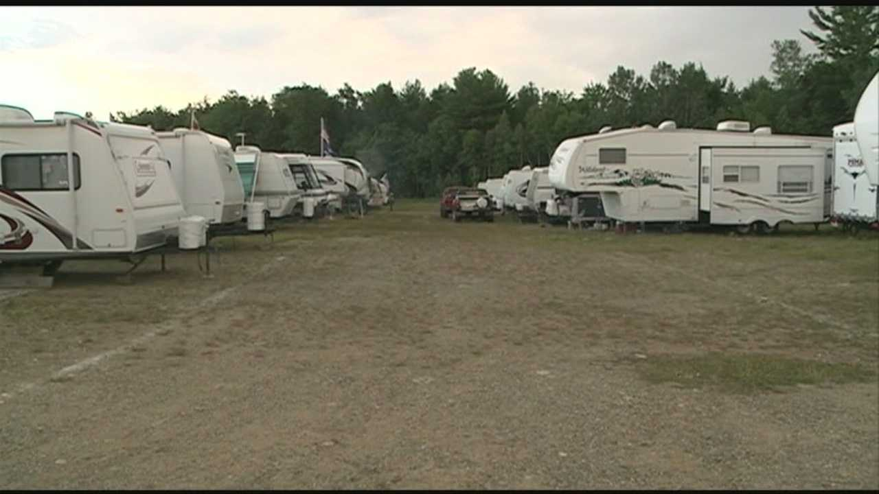 NASCAR fans have arrived at New Hampshire Motor Speedway ahead of race weekend. WMUR's Adam Sexton reports.