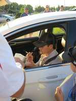 Ricky Stenhouse Jr., driver of the No. 17 Cargill Wegman's Ford