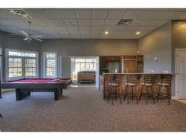 There is also a large great room for indoor gatherings and activities.