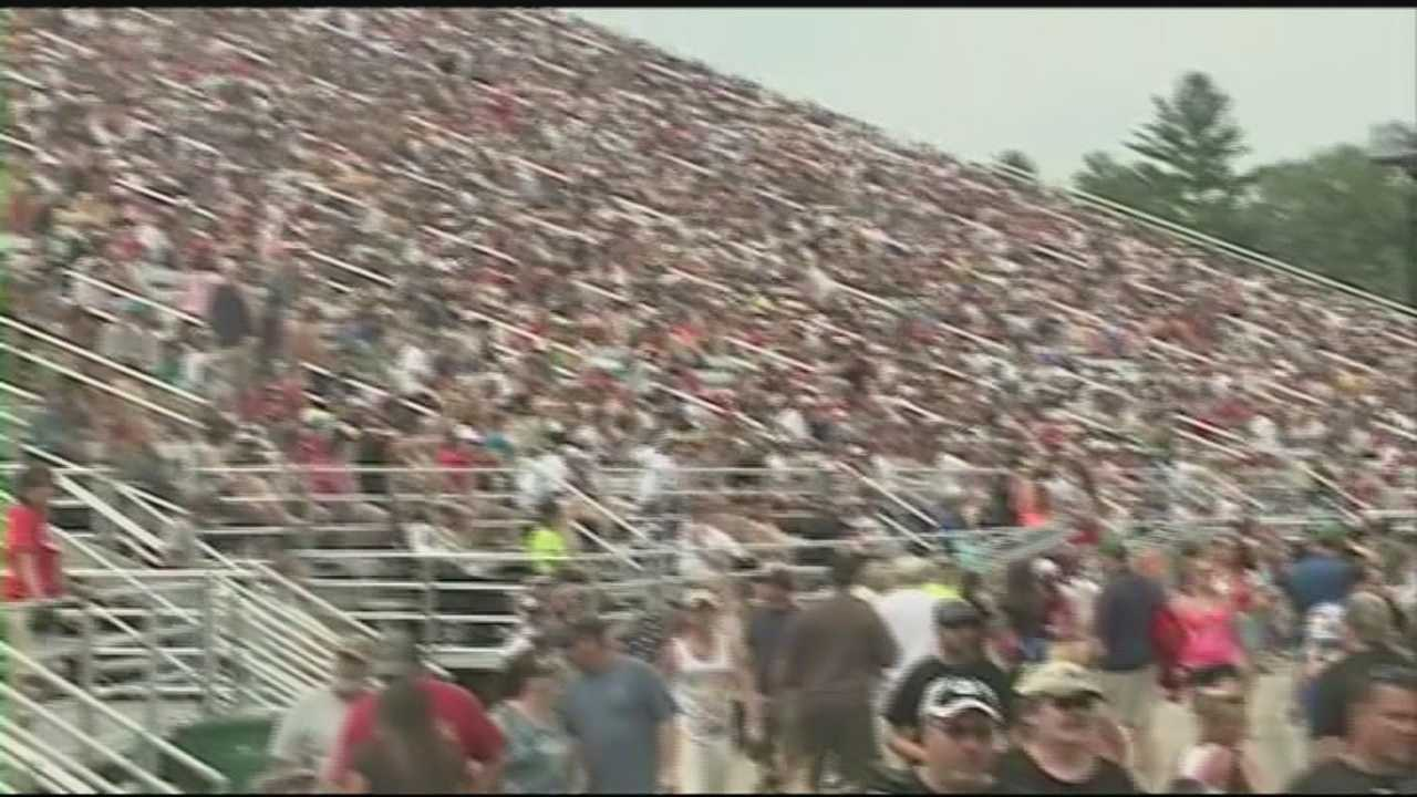 Tens of thousands of fans packed NHMS